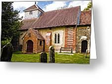 St James Ashmansworth Greeting Card