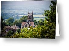St James Church Shaftesbury Greeting Card