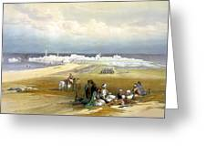 St. Jean D'acre April 24th 1839 Greeting Card