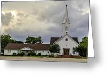 St John Lutheran Church Of Prairie Hill Greeting Card