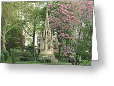 St. John The Divine Grounds Greeting Card