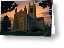 St Johns Cathedral - Spokane Greeting Card
