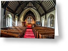 St Johns Church Greeting Card by Adrian Evans