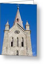 St. John's Church Cesis Greeting Card