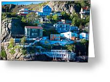 St. John's Harbor Greeting Card