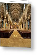 St Joseph Cathedral IIi Greeting Card
