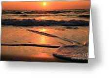 St. Joseph Sunset Swirls Greeting Card