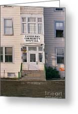 St. Joseph's Hospital Fairbanks Alaska The Chena River 1969 Greeting Card