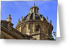 St Justo And Pastor Church Greeting Card