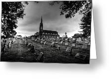 St Libory Church Greeting Card