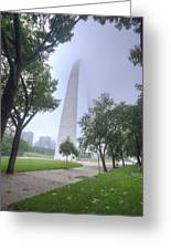 St Louis Arch In Spring Greeting Card