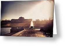 St. Louis Art Museum At Grand Basin Greeting Card