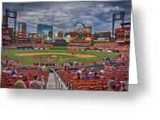 St Louis Cardinals Busch Stadium Dsc06139 Greeting Card