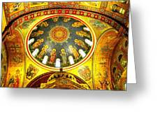 St. Louis Cathedral Dome 2 Greeting Card