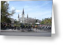 St. Louis Cathedral New Orleans Greeting Card