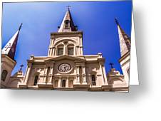 St. Louis Cathedral Greeting Card