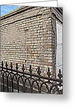 St Louis Cemetery No. 1 Greeting Card