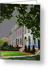 St Louis Homes Greeting Card