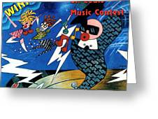 St Louis Music Contest Winners Greeting Card