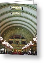 Ornate St. Louis Station Greeting Card