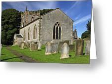 St Margaret's Church - Wetton Greeting Card