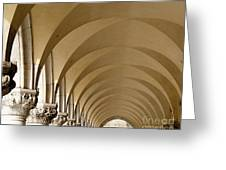 St. Marks Basilica Arches Venice Greeting Card