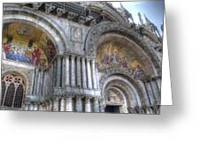 St Marks Entry - Venice Italy Greeting Card