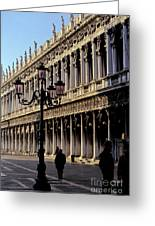 St. Mark's Square Venice Italy Greeting Card