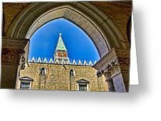 St Marks Tower - Venice Italy Greeting Card