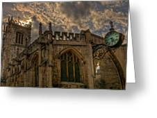 St Martin Coney Street In York Greeting Card