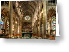 St. Mary Cathedral Basilica Of The Assumption Greeting Card