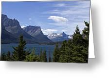 St Mary Lake Vista Greeting Card