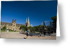 St. Mary's Cathedral Greeting Card