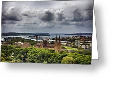 St Mary's Cathedral - Sydney Australia V2 Greeting Card