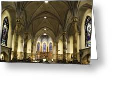 St Mary's Catholic Church Greeting Card by Lynn Geoffroy