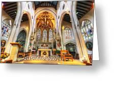 St Mary's Catholic Church - The Altar Greeting Card