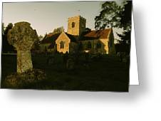 St Marys Church And Ancient Memorial Greeting Card