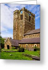 St Mary's Church Conway Greeting Card