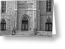 St. Mary's Church - Port Washington 4  Greeting Card