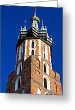 St. Mary's Church Tower Greeting Card