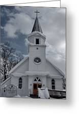 St. Marys Glenfield Ny Greeting Card
