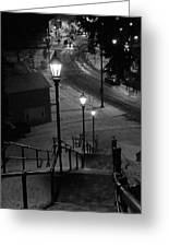 St. Mary's Stairs  Greeting Card