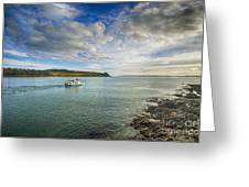 St Mawes Ferry Duchess Of Cornwall Greeting Card