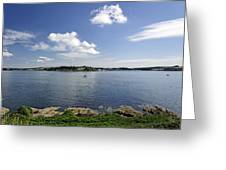 St Mawes From Pendennis Point Greeting Card