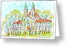 St. Michaeli Church In Munich Greeting Card