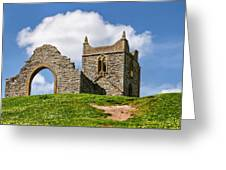 St Michael's Church - Burrow Mump 4 Greeting Card