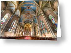 St. Michael's Church Alter Greeting Card
