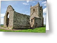 St Michael's Church - Burrow Mump 5 Greeting Card