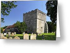 St Michael's Church - Shalfleet Greeting Card