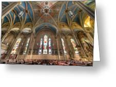St. Michael's Church Windows Greeting Card